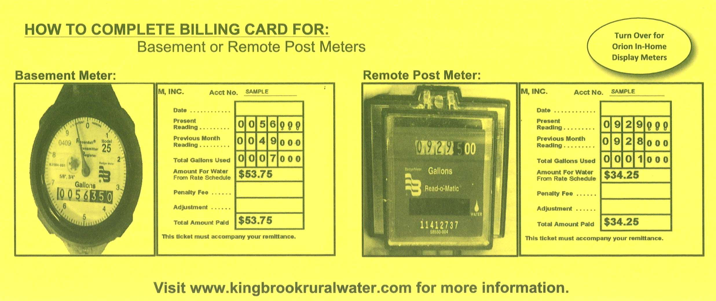 Remote Post Yellow Instruction Card Cropped